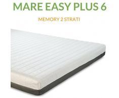 Evergreenweb Materasso Memory Ortopedico a 7 zone 6cm H18 Mare Easy Plus 6 Prezzi a partire da