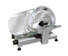 Affettatrice elettrica a gravità ergonomica semiprofessionale GV Affilatoio Amovibile Lama diametro 275 mm Modello serie Lusso 275/A
