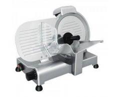 Affettatrice elettrica a gravità ergonomica professionale GV Affilatoio Fisso Lama diametro 250 mm Modello serie Lusso 25GSCEV
