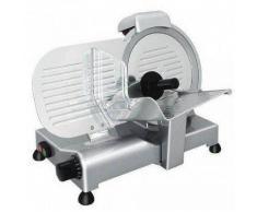 Affettatrice elettrica a gravità ergonomica semiprofessionale GV Affilatoio Fisso Lama diametro 220 mm Modello serie Lusso 22GS
