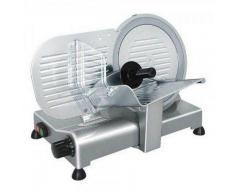 Affettatrice elettrica a gravità ergonomica professionale GV Affilatoio amovibile Lama diametro 250 mm Modello serie Lusso 25G/A CEV