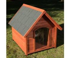 Cuccia per cani Spike Eco 365 con porta e isolamento - L 85,1 x P 90 x H 84 cm