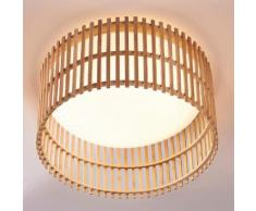 Leja - lampada LED da soffitto in legno di bambù