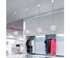 Due P Illuminazione Live Lampada A Sospensione In Vetro Soffiato Design Moderno