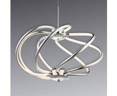 Globo Lampada LED a sospensione Samia, design slanciato