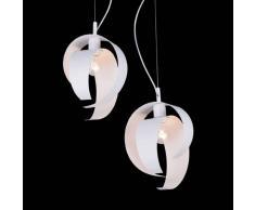 Lis Poland Moderna lampada a sospensione Arabica, bianca