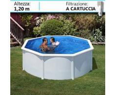 Piscine Italia Piscina Fuori Terra Gre In Acciaio Rotonda Dream Pool 300