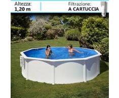 Piscine Italia Piscina Fuori Terra Gre In Acciaio Rotonda Dream Pool 460