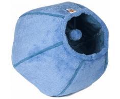Cuccia Cat Cave Plush: 1 Cuccia Azzurra