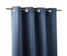 Tenda con occhielli blu, 140x300 cm
