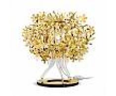 SLAMP lampada da tavolo FIORELLINA GOLD (Gold - Goldflex®)