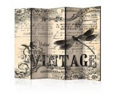 Paravento 5 Pannelli - Vintage Correspondence Ii 225x172cm Erroi...