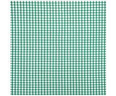 Rete Quadra Da Giardino 5mm In Plastica 1x30m Rama Mirror Verde...