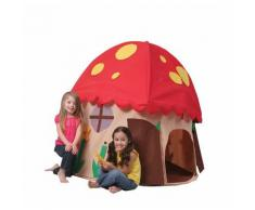 Casetta Tenda Bambini In Tessuto Bazoongi Mushroom House...