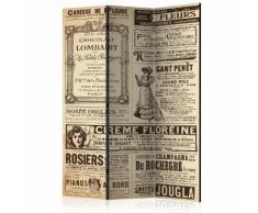 Paravento 3 Pannelli - Vintage Magazines 135x172cm Erroi...
