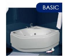 Vasca Da Bagno Idromassaggio Angolare 120x120 Cm Basic Made In Ita...