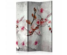Paravento 3 Pannelli - Concrete Orchid 135x172cm Erroi...