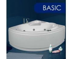 Vasca Da Bagno Idromassaggio Angolare 135x135 Cm Basic Made In Ita...