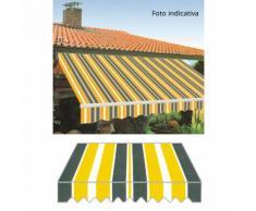 Tenda Da Sole Con Bracci Retrattili 300x250cm Tessuto In Poliester...