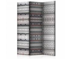 Paravento 3 Pannelli - Ethnic Design 135x172cm Erroi...