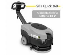 Lavapavimenti Lavasciuga Pavimenti A Batteria 12v Scl Quick 36b La...