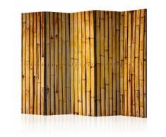 Paravento 5 Pannelli - Bamboo Garden Ii 225x172cm Erroi...