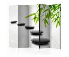 Paravento 5 Pannelli - Zen Stones Ii 225x172cm Erroi...