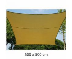 Tenda A Vela Ombreggiante Quadrata 500x500 Cm In Poliestere 160 Gr...