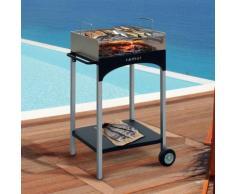 Barbecue A Carbone Con Griglia In Acciaio Famur Bk 6 Life...
