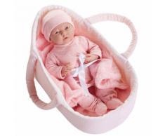 Bambola Bebè Neonato In Culla 39cm Jc Toys...