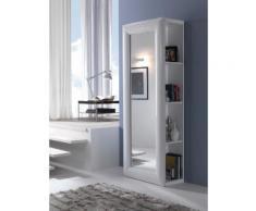 Armadio A Specchio Da Ingresso Con Libreria 2018x80x41cm Finelli S...