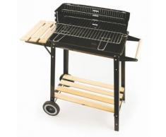 Barbecue A Carbone Con Griglia 48x29cm In Acciaio Soriani Sun-day...