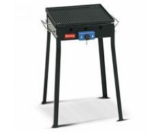 Barbecue Fornello A Gas Con Piastra In Ghisa Asportabile Ferraboli...