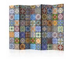Paravento 5 Pannelli - Colorful Mosaic Ii 225x172cm Erroi...
