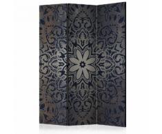 Paravento 3 Pannelli - Iron Flowers 135x172cm Erroi...