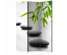 Paravento 3 Pannelli - Zen Stones 135x172cm Erroi...