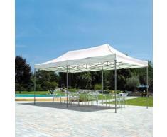 Gazebo Pieghevole Da Giardino In Alluminio 3x6m Vorghini Flexible ...