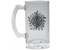 Supernatural - Anti Possession - Boccale birra - Unisex - trasparente