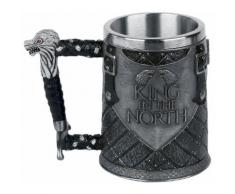 Game Of Thrones - King in the North Tankard - Boccale birra - Unisex - multicolore