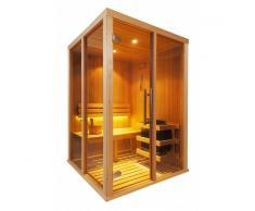Oceanic Cabina sauna finladese Oceanic Serie Vision – V2020 (2 posti)
