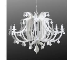 SLamP Lampada a sospensione di design Ginetta, bianca