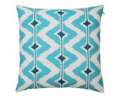 Cuscino blu/bianco da esterno 40x40 PAPAYA