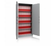 Armadio in acciaio per ufficio, alt. x largh. x prof. 1950 x 950 x 500 mm