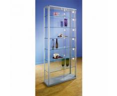 office akktiv Vetrina dal design elegante, versione vetrina per collezionismo, alt. x largh. x prof. 1800 x 820 x 250 mm