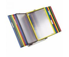 Tarifold Supporto da tavolo a leggio per cartellette trasparenti, set completo