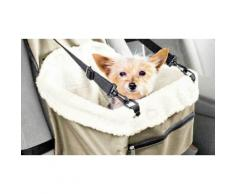 Trasportino sedile da auto per cani e gatti
