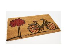 1x Zerbino in cocco colorato / Bicicletta