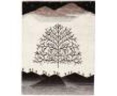Nain Trading Tappeto Persia Gabbeh Loribaft Nowbaft 127x102 Moderna/Design Grigio Scuro/Beige (Annodato a mano, Lana, Persia/Iran)