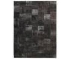 Nain Trading Tappeto Patchwork 401x306 Moderna/Design Grigio Scuro (Annodato a mano, Lana, Persia/Iran)