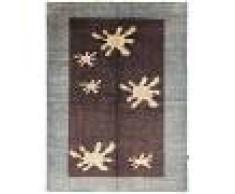 Nain Trading Tappeto Orientale Design Ziegler 185x144 Grigio Scuro/Beige (Afghanistan, Lana, Annodato a mano)